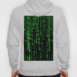Matrix Binary Code Hoody