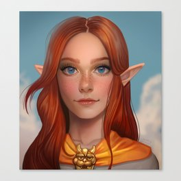 Malon from Ocarina of Time Canvas Print