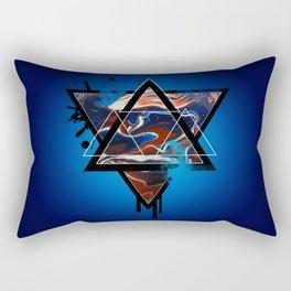 MarblExplosion  Rectangular Pillow