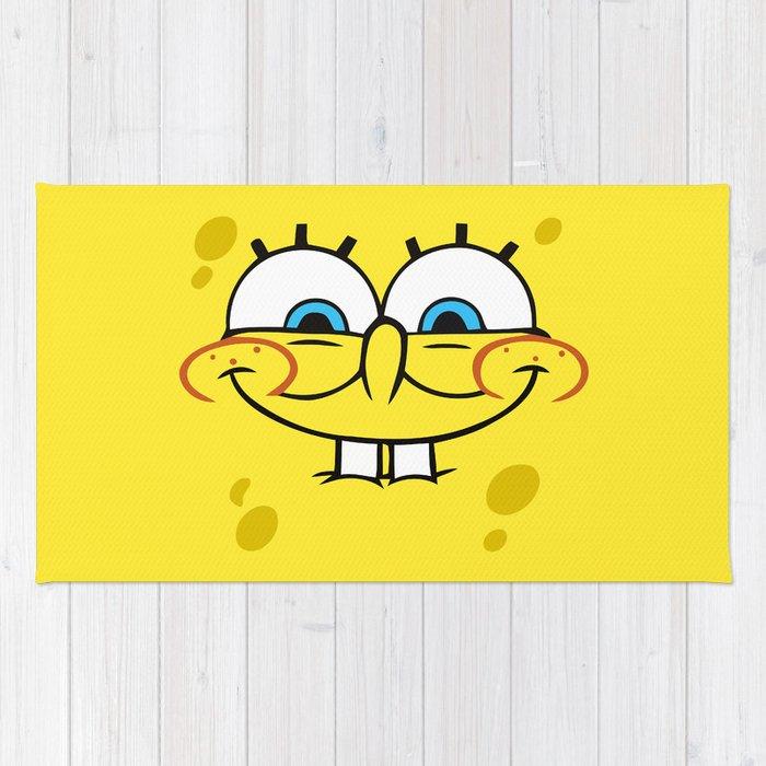 Spongebob Naughty Face Rug