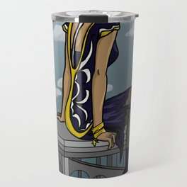 Black Canary  Travel Mug