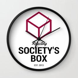 Society's Box Minimalist Wall Clock