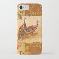 turkey iPhone & iPod Cases featuring Wild Turkey by Edith Jackson-Designs