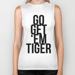 Go Get 'Em Tiger Biker Tank