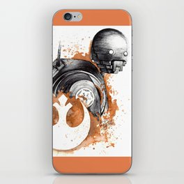 Rogue droid iPhone Skin