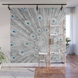Peacock feathers Wall Mural