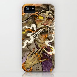 Smoke and Flame iPhone Case