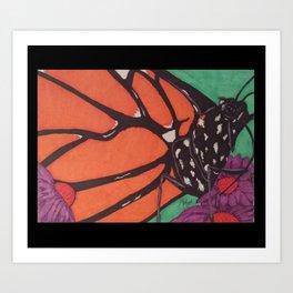 Monarch... Art Print