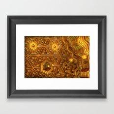 Senor Pareidolia~Gatekeeper of Reflection Framed Art Print