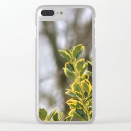 That Winter Feeling Clear iPhone Case