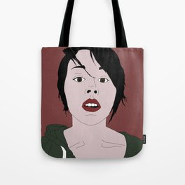 Her words are dripping with genius Tote Bag