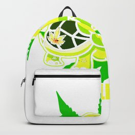 Chill Mal Cannabis Weed Kiffer Backpack