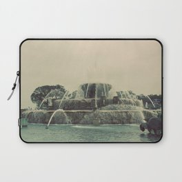 Buckingham Fountain Chicago Laptop Sleeve