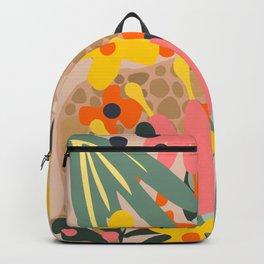 Jungle Cheetah Print Backpack