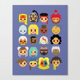 Street Fighter III - 3rd Strike Mini Canvas Print