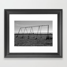 Seaside, capture 31 Framed Art Print