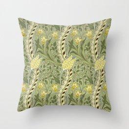 "William Morris ""Daffodil"" Throw Pillow"