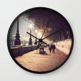 London Stroll  Wall Clock
