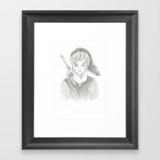 The Hero of Time Framed Art Print