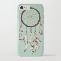 dreamcatcher iPhone & iPod Cases featuring dreamcatcher by tipsyeyes
