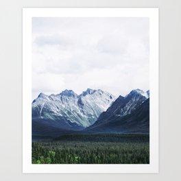 Rockies Vista Art Print