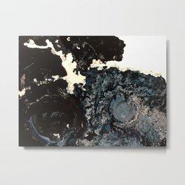 black blizzard Metal Print