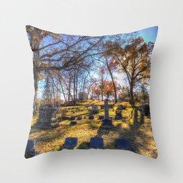 Sleepy Hollow Cemetery New York Throw Pillow
