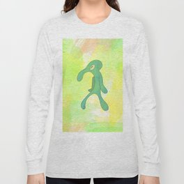 Bold And Brash Squidward Long Sleeve T-shirt
