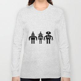 Three Robots by Bruce Gray Long Sleeve T-shirt