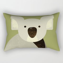 Whimsy Koala Rectangular Pillow