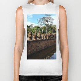 Angkor Wall Cambodia Biker Tank