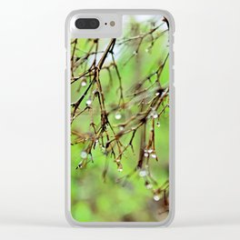 Silver Sterling Clear iPhone Case