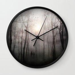 Eternal walk Wall Clock