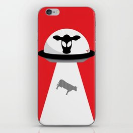 Space Cows iPhone Skin