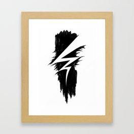 Lightning Arts Logo Framed Art Print