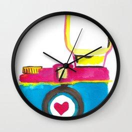 Love Snap Wall Clock