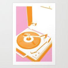 45rpm 33 1/3rpm 16rpm Art Print