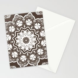 lace ornament Stationery Cards