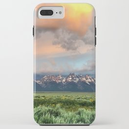 Glorious Sunrise Over The Tetons iPhone Case