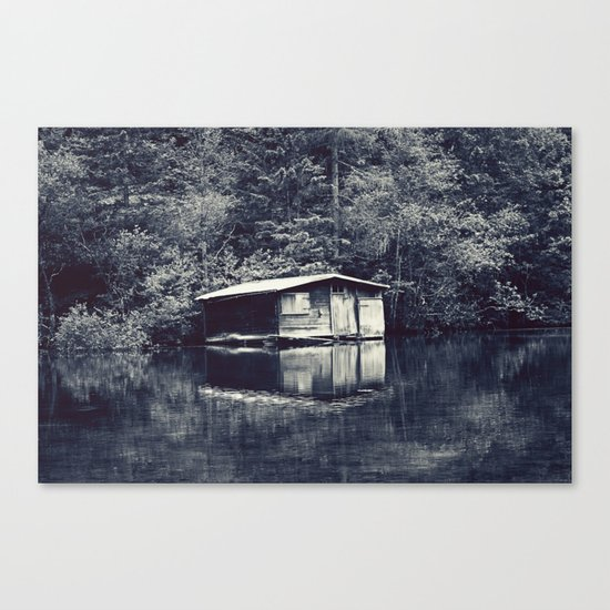 Cabin In The Woods, Revisited Canvas Print