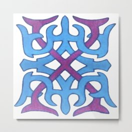 Abstract Designz - 32 Metal Print