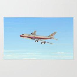 Commercial jet liner Rug
