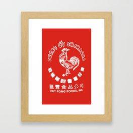 Sriracha  Framed Art Print