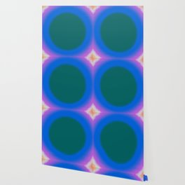 Teal Fuzz Wallpaper