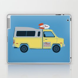 Galactic Pizza Van Laptop & iPad Skin