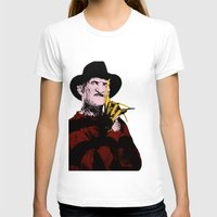 freddy krueger T-shirts featuring Horror Series Pop Art: Freddy Krueger by AlyBee
