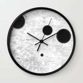 MACROCOSMOS 01 Wall Clock