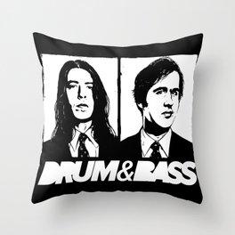 Nirvana DNB Throw Pillow