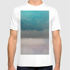 Eternity White MEDIUM Mens Fitted Tee