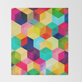 Hexa Throw Blanket